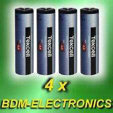 4x Ersatzbatterie ABUS FU2992 Secvest Bewegungsmelder Schlüsselschalter Batterie