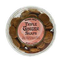 Trader Joe's Triple Ginger Snap Cookies 14oz (2pk) Free Shipping