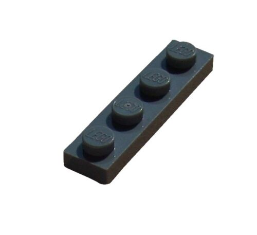 dark bluish gray 3024 Neu Platten Lego 50 Stück dunkelgraue Platte 1x1