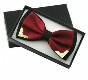 Formal-Suit-Butterfly-Bow-Ties-Polyester-Solid-Pattern-For-Men-and-Women-Wear