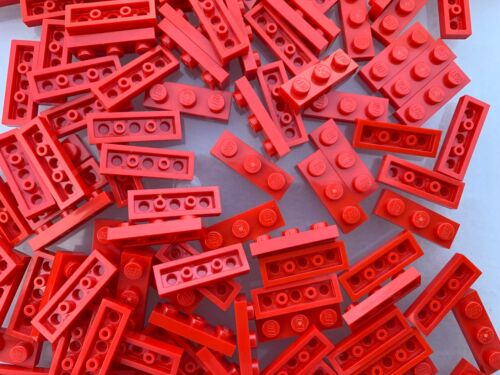 10 Pieces Per Order LEGO 3623 NEW Red 1x3 Plates