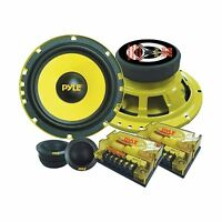 Pyle Plg6c 6.5-inch 400-watt 2-way Custom Component System Stan... Free Shipping