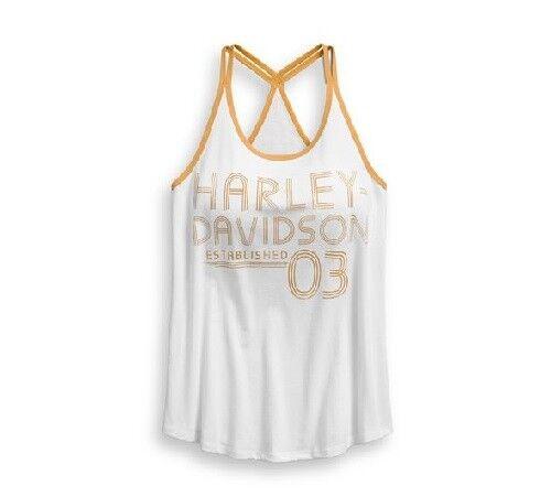 Tank Double Womens Harley 96241 Strap 18vw davidson BIxf6