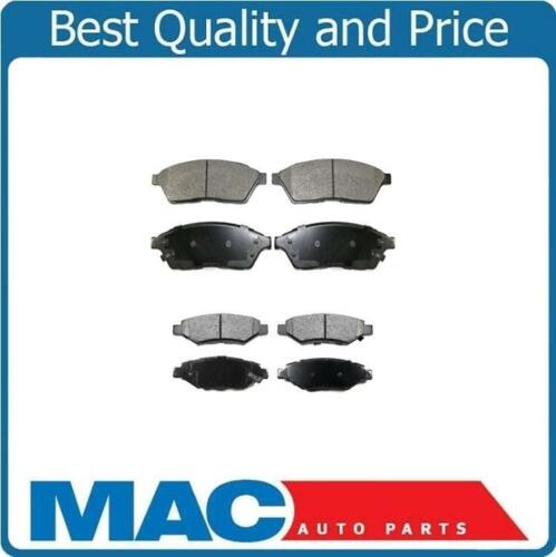 Fits For 10-15 Cadillac SRX Front /& Rear Ceramic Brake Pads CD1422 CD1337