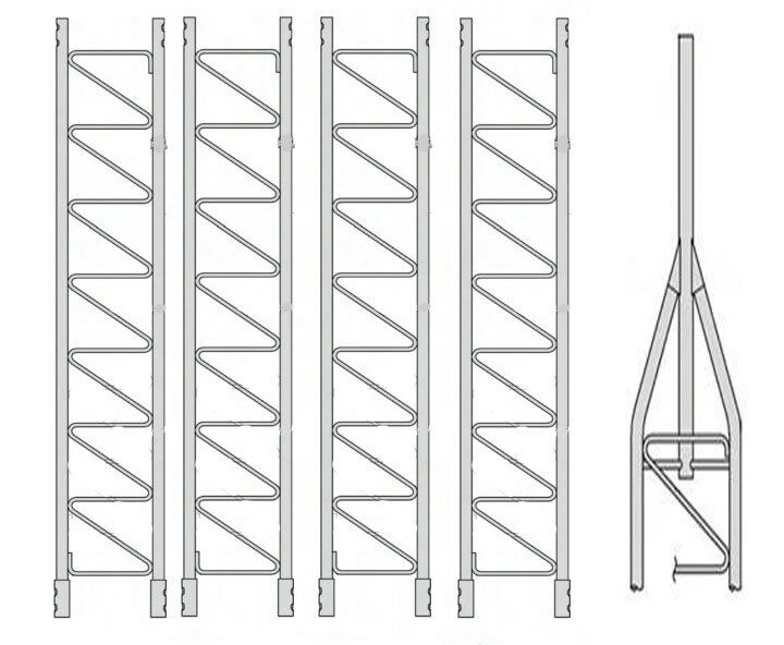 ROHN 45G Series 50' Basic Tower Kit. Buy it now for 1568.00