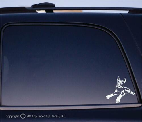 Beauceron dog Vinyl Decal,French Ring Sport,Flyball,tracking,herding,sm