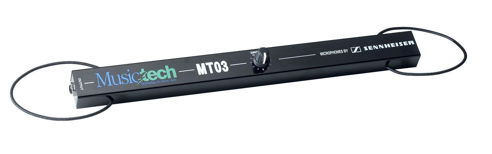 Sennheiser Accordion Microphone External MT-03EN DIY Adjustable Gain, TRS 1 4