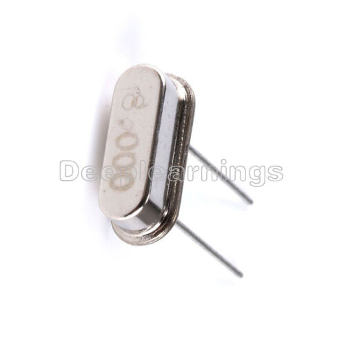 20PCS 8MHz //8.000 MHZ Crystal Oscillator HC-49S NEW