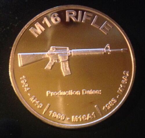 1 OZ COPPER ROUND M16 RIFLE