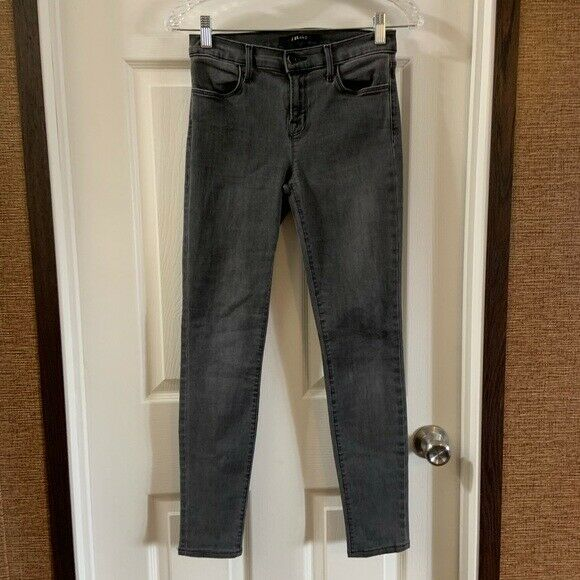 NWOT J Brand Women's Grey 620 Photo Ready Super Skinny Jeans size 26