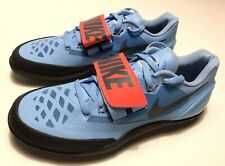 0005c550 item 7 Nike Zoom Rotational 6 Shot Put Discus Hammer Throw Shoes Blue SZ 14  685131-446 -Nike Zoom Rotational 6 Shot Put Discus Hammer Throw Shoes Blue  SZ 14 ...