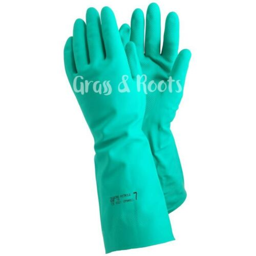 Nitrile Gloves Agricultural// Pesticide Spray// Chemical Handling Gloves 0.45mm