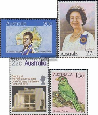 Unmounted Mint Australia 699,708i,714,735 Never Hinged 1980 H Buy Now complete Issue
