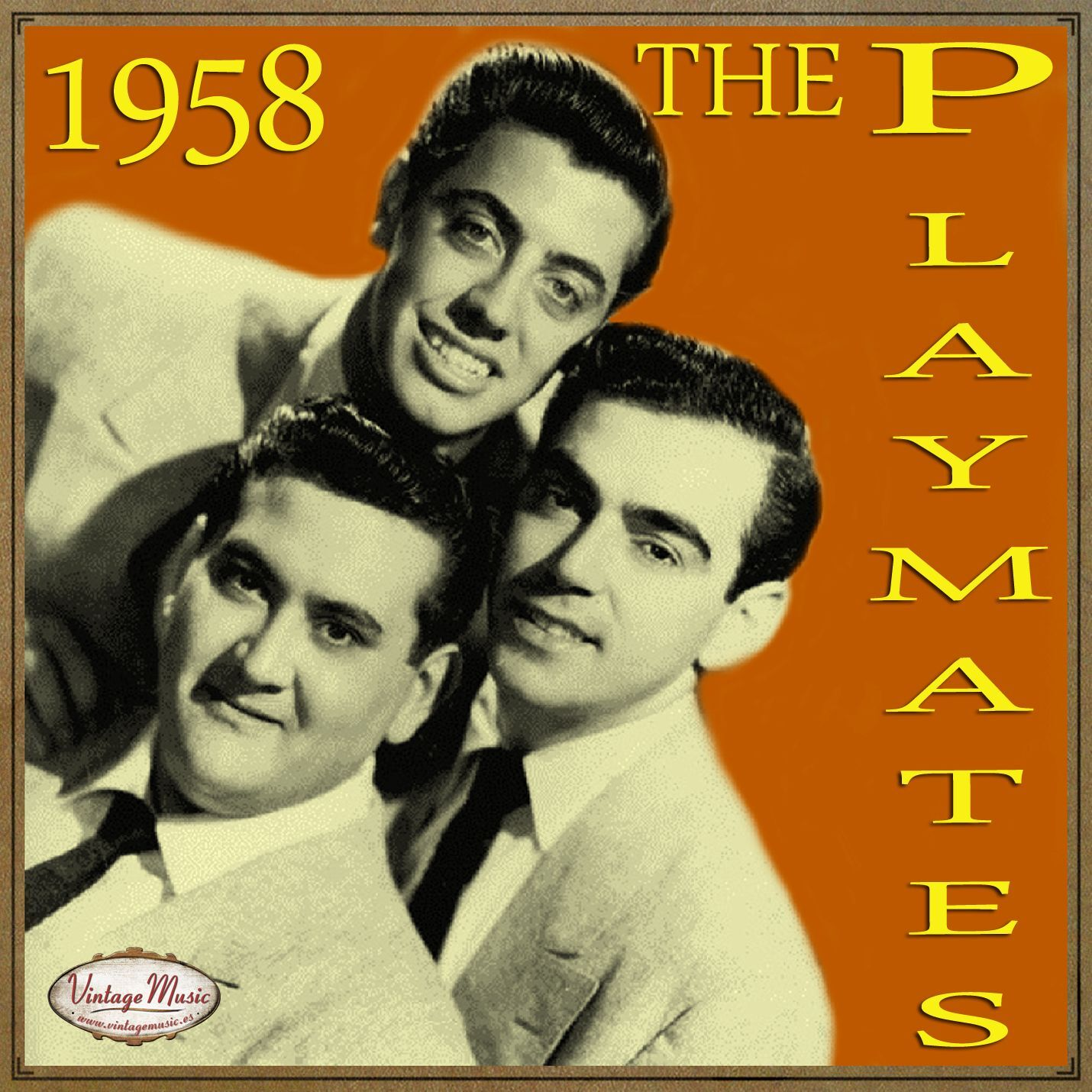 The Playmates - THE PLAYMATES Vocal Jazz. Doo Wop , Let's Have A Party - CD