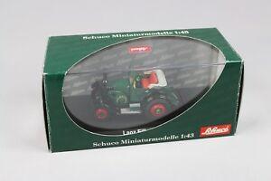 Zc478 Schuco 02865 Tracteur miniature 1/43 Lanz Eilbulldog Heinrich Mannheim