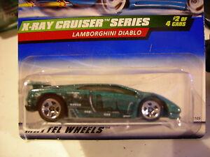 Hot Wheels Lamborghini Diablo X Ray Cruiser Series Green Ebay