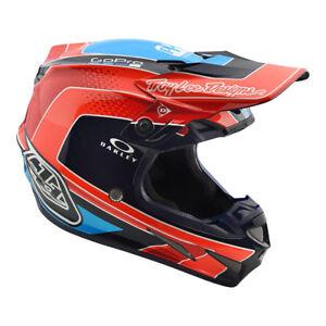 New-Troy-Lee-Designs-SE4-Full-Carbon-Squadra-Adult-Medium-Mx-Helmet-TLD-Team-KTM