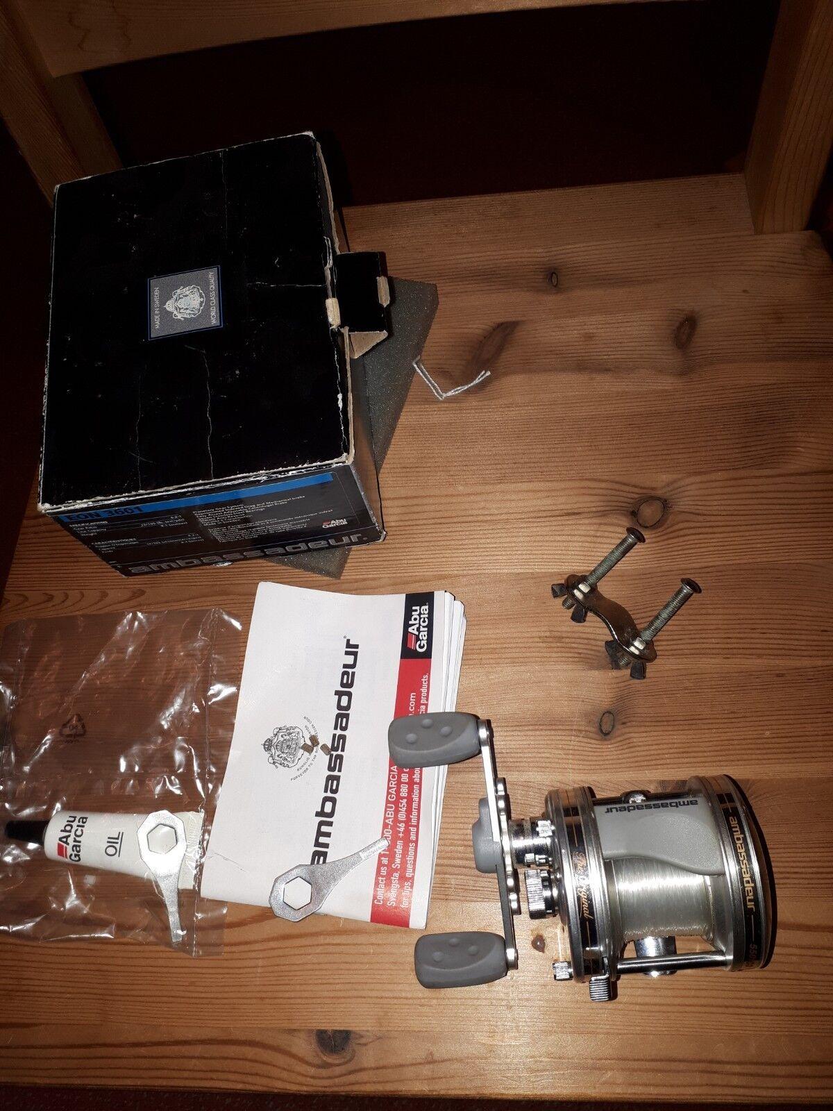 Abu  Ambassadeur 5501 mit Papiere und Werkzeug No.010715 19  quality guaranteed