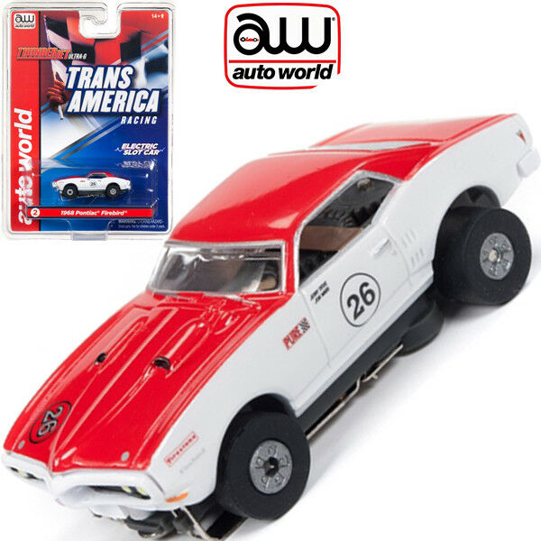 Auto World Pontiac Firebird Jerry Titus Thunderjet AFX HO Slot Car Sc338