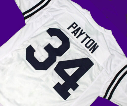 JACKSON STATE UNIVERSITY JERSEY WHITE  SEWN NEW ANY SIZE WALTER PAYTON