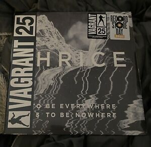 Thrice To Be Everywhere is To Be Nowhere RSD 2021 Splatter Vinyl Limited Edition