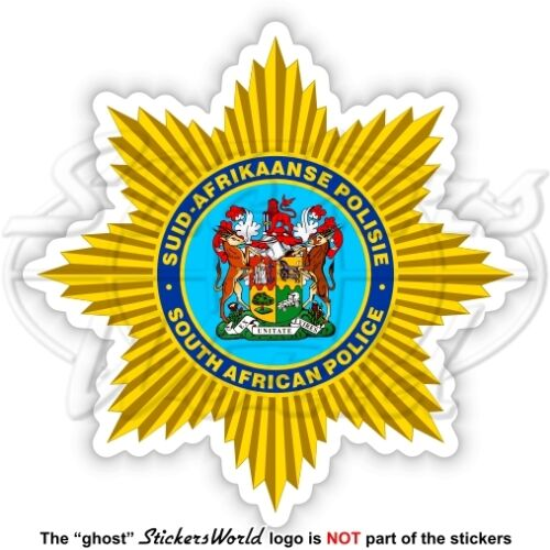 SOUTH AFRICA POLICE Former Badge SAP Suid-Afrikaanse Polisie S.African Sticker