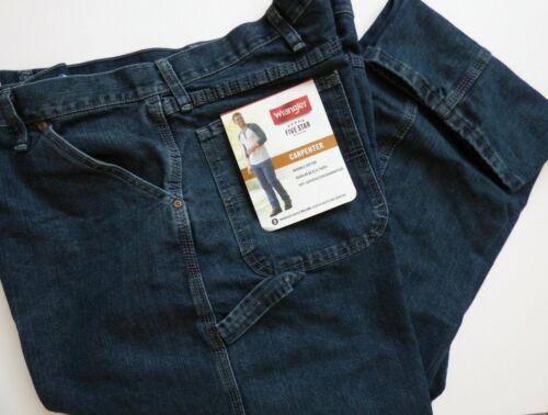 Mens  Wrangler Five Star Premium Carpenter Jean Size Regular Big Tall