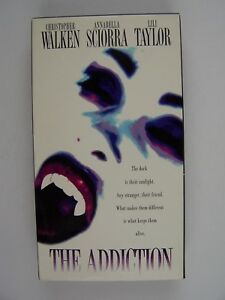 The Addiction VHS PROMO Screen Video Christopher Walken