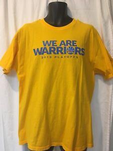 2131411a Details about 2013 Golden State Warriors Warriors Defend Kaiser Permanente  NBA Playoffs shirt