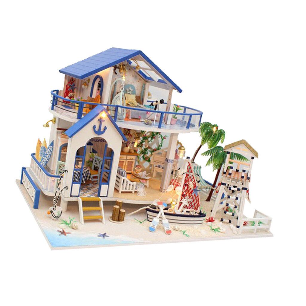 Hazlo TÚ MISMO Casa de Muñecas en Miniatura Jugara prettyia 1 24 muñeca casa muebles Juguete Regalo