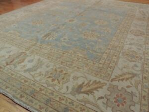 Image Is Loading Gorgeous Mahal 12x15 Oriental Area Rug Blue Wool