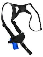 Barsony Gun Horizontal Shoulder Holster For Na Arms, Llama Mini/pocket 22 25 380