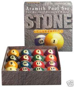 Boules De Billard, Billes Aramith Us Stone 57mm