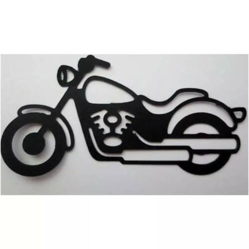 Moto Harley découpées métal coupe meurt Moto meurt débris réservation cartes
