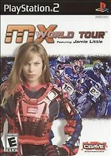 MX World Tour Featuring Jamie Little (Sony PlayStation 2, 2005) PS2 Disc only