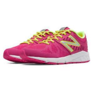New-Balance-Kids-Vazee-Rush-Running-Shoe-PS-and-GS-Pink-Yellow-KJRUSPK