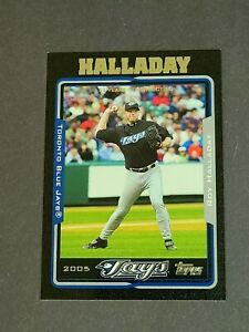 Roy Halladay Toronto Blue Jays 2005 Topps Black #19 45/54
