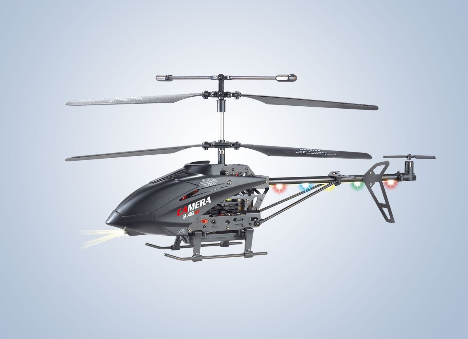 Rcu13a Helicopter Helicopter LED2, 4 GHz Video Camera+2gbmicosd Card