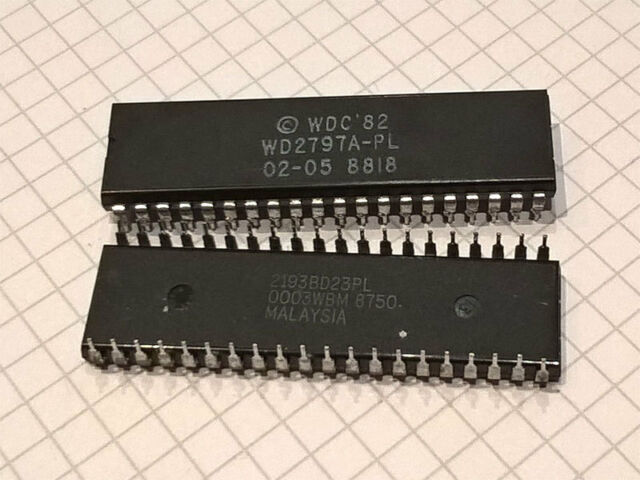 WDC WD2797PL-02 DIP40