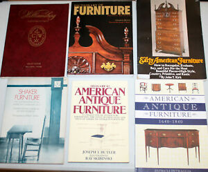 Details about American Early Antique Furniture Dictionary Reference  Collector\'s Guide Book Lot