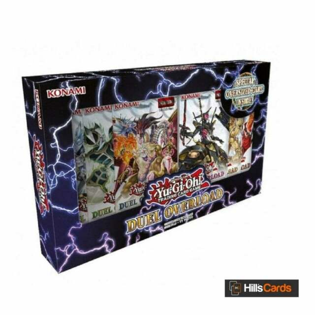 YuGiOh Duel Overload Box - 1st Edition - Brand New & Sealed - English TCG Cards