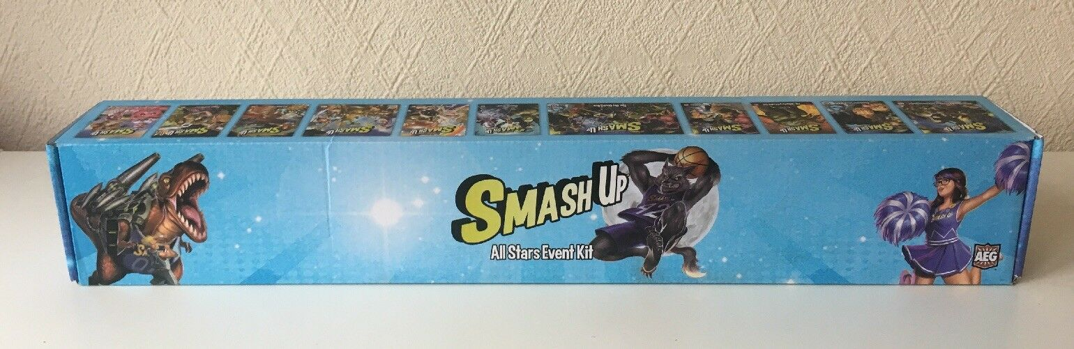Smash Up - All Stars Event Kit - AEG  - Very Good Condition - 7 Sets of cards