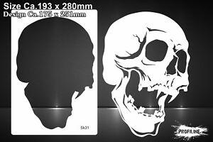 Airbrush-Schablone-Totenkopf-Schaedel-Skull-Stencil