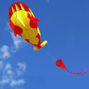 Huge-3D-Kite-Frameless-Soft-Parafoil-Whale-Family-Outdoor-Sports-Toy-Children