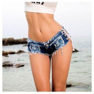plus gros rabais liquidation à chaud bons plans sur la mode Details about Mini Shorts Jeans Cover-Up Robe Woman Mini Shorts Jeans  JEA005 P