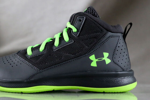 f6ffde16f34 Under Armour Jet Mid Basketball Shoes for Boys   Authentic US Size ...