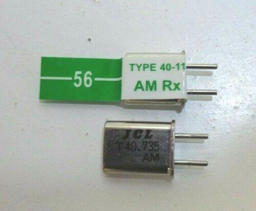 Futaba Channel 56 o 40.735 TX /& RX a doppia conversione cristalli 40MHZ NUOVO inutilizzato