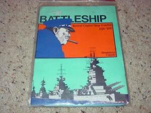 Simulations-Canada-BATTLESHIP-Capital-Ship-Combat-1925-1945-UNPUNCHED