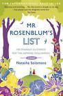 Mr. Rosenblum's List: Or Friendly Guidance for the Aspiring Englishman by Natasha Solomons (Paperback, 2010)