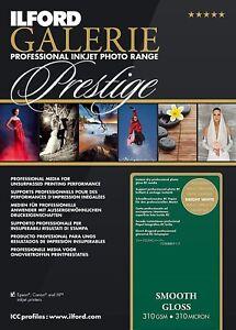 Premium-Glossy-Photo-Paper-8-5-x-11-034-310gsm-25-50-100-Sheets-Inkjet-Printer